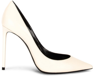 Saint Laurent Zoe Pumps in Pearl | FWRD