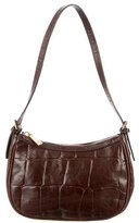 Mulberry Small Embossed Leather Shoulder Bag