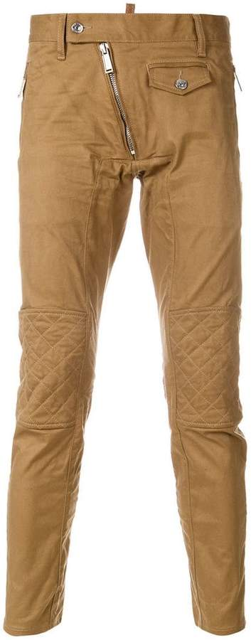 DSQUARED2 zipped pocket trousers