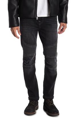 True Religion Roco No Flap Skinny Moto Jeans