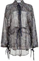 Chloé tile print blouse - women - Silk - 40
