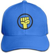 Christina Gorillaz Band Logo Men's Peaked Baseball Cap RoyalBlue