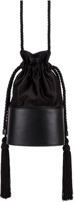 Hunting Season Small Lola Pouch Bag in Black | FWRD