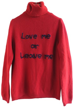CNC Costume National Red Wool Knitwear