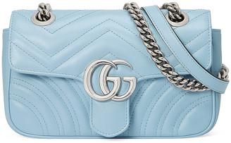 Gucci GG Marmont Bag in Porcelain Light Blue | FWRD