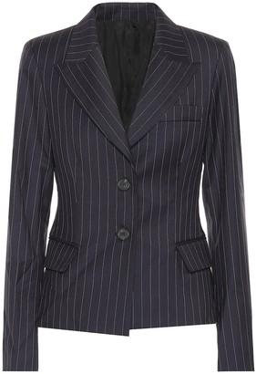 Matthew Adams Dolan Pinstripe stretch-wool blazer