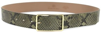 B-Low the Belt Milla Python-Embossed Leather Belt