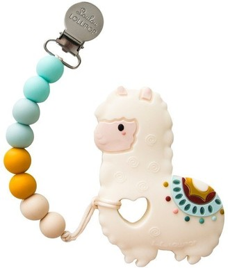 Loulou Lollipop Teether Set Silicone Llama