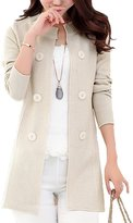 Goege Bailey Women's Sweater Open Front Mid-long Knit Cardigan Knitwear Coat Jackets