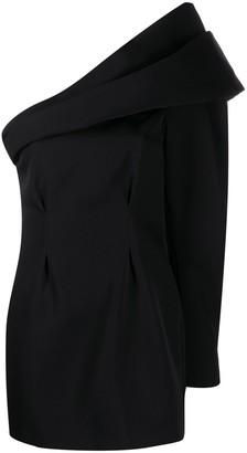 Isabel Marant One-Shoulder Mini Dress