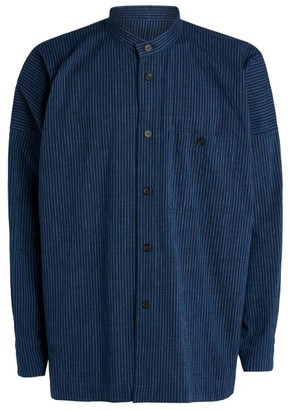 Issey Miyake Striped Cotton Shirt