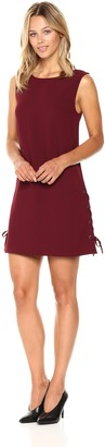 Cupcakes And Cashmere Women's Timberly Lace Up Side Dress