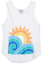 Wildfox Couture Girl's Sun And Surf Cotton Tank