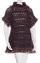 Chanel Paris-Byzance Metallic Tunic Sweater