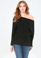 Bebe Dolman Sleeve Sweater