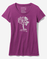 Eddie Bauer Women's Graphic Short-Sleeve T-Shirt - Find Your Tree