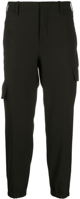Neil Barrett Cropped Flap Pocket Trousers