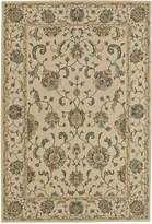 "D Style Beacon BEA8 Ivory 9'6"" x 13'2"" Area Rug"