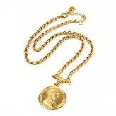 Ben-Amun Moroccan Coin Pendant Necklace