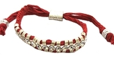 Shashi - Women's Red One Row Silver/Crystal Bracelet