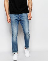 G Star G-Star Jeans 3301 Slim Fit Stretch Light Aged Wash