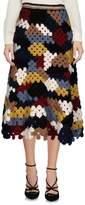 Rosetta Getty 3/4 length skirt