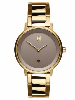 MVMT Womens Analogue Quartz Watch with Stainless Steel Strap D-MF02-G