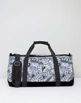 Mi-Pac Duffel Bag With Tropical Leaf Print