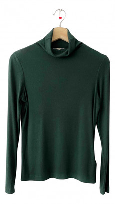 Whistles Green Cotton Knitwear