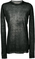 Damir Doma slim fit sweatshirt - men - Linen/Flax - S