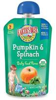 Earth's Best Organic 3.5 oz. Pumpkin & Spinach Baby Food Puree