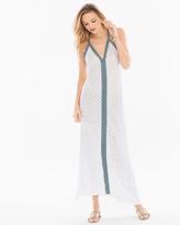 Soma Intimates Cotton Blend Maxi V-Neck Dress