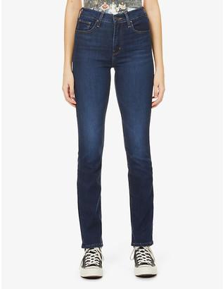 Levi's 724 Slim-Leg High-Rise Jeans