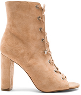 BCBGeneration Ripley Lace Up Bootie in Tan. - size 10 (also in )