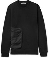 Givenchy Cuban-Fit Shell and Fleece-Back Cotton-Jersey Sweatshirt
