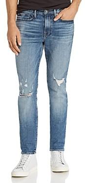 Frame L'Homme Skinny Jeans in Portola