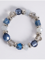 M&S Collection Assorted Bead Bracelet