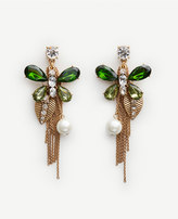 Ann Taylor Butterfly Statement Earrings