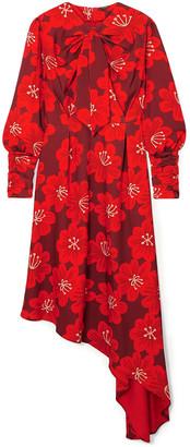Dodo Bar Or Melody Floral-print Crepe Midi Dress