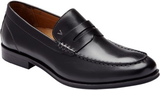 Vionic Men's Leather Loafers - Spruce Snyder