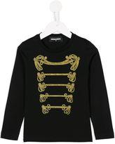 DSQUARED2 band sweatshirt - kids - Cotton - 10 yrs