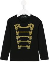 DSQUARED2 band sweatshirt - kids - Cotton - 12 yrs