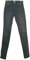 French Connection Grey Cotton - elasthane Jeans for Women