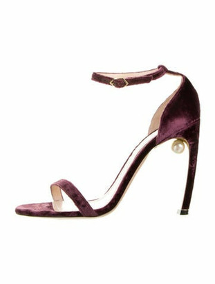 Nicholas Kirkwood Sandals Purple