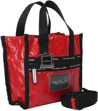 Marc Jacobs Red Mini Ripstop Tote Bag