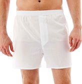 JCPenney Stafford 3-pk. Woven Blended Cotton Boxers