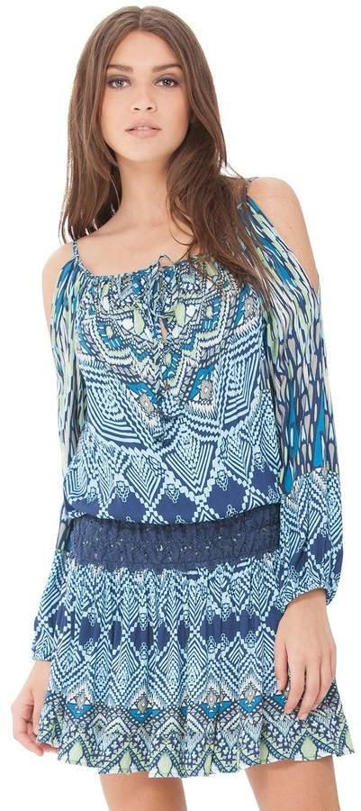 Hale Bob Savana Blouson Dress