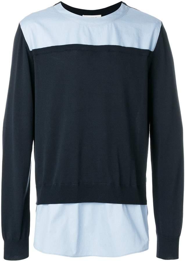 Cédric Charlier colour block sweatshirt