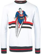 Iceberg Superman motif jumper