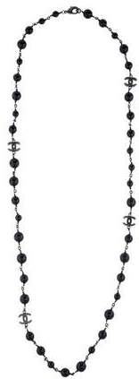 Chanel CC Bead Necklace